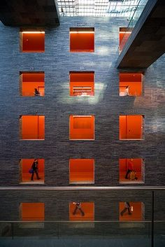 Netherlands Institute for Sound and Vision by Neutlings Riedjik Architects
