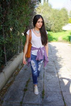 latest outfit post on the blog!  Casual Sunday! x