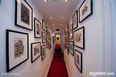 Hallways at the Ambassade Hotel