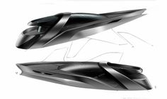 Yacht Sketches by Francesco Gastaldi (Lexus LC-Y project)