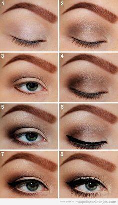 agradable maquillar ojos marrones mejores equipos