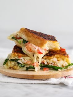 Kennebunkport Grilled Cheese Sandwich | foodiecrush.com