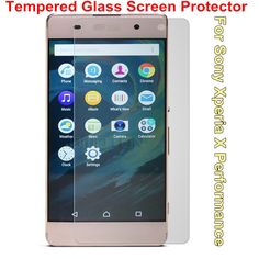 BrankBass 2.5D Arc Edge 9H Hard 0.3mm 5 inches Tempered Glass film for Sony Xperia X Performance Transparent Screen Protector