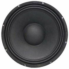 """Seismic Audio - Jolt-10 - 10"""" Bass Guitar Raw Woofer Speaker Driver PRO AUDIO Replacement by Seismic Audio. $69.99. 10"""" Bass Guitar Replacement Woofer - 8 OhmsModel Number: JoltTM 10200 Watts RMS - 400 Watts PeakBass Guitar Replacement Woofer8 Ohm30 Hz-5K Hz94 dB53 ounce magnet2.5"""" Voice CoilPressed Steel ChassisPaper Cone/Cloth EdgeBrand NewOne Year WarrantyWhether you are building your own bass guitar cabinet or replacing an old woofer, this 10"""" speaker woofer is what you nee... Woofer Speaker, Speakers, Guitar Cabinet, Sound Stage, Bass, Musical Instruments, Number, Building, Places"""