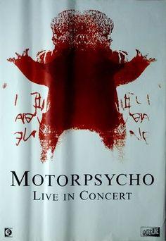 MOTORPSYCHO - 2002 - Tourplakat - Love Cult - Tourposter - Concert