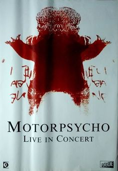 MOTORPSYCHO - 2002 - Tourplakat - Love Cult - Tourposter - Concert