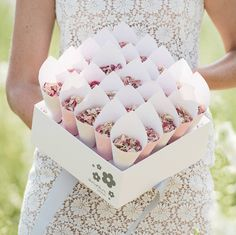 Are you interested in our wedding confetti cone box? With our natural petal confetti cones you need look no further.
