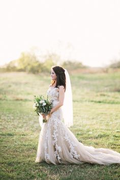 J. Masciana Photography - Austin Photographers - Romantic, vintage-style bridal portrait session