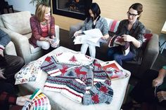 Roots teams up with iconic Canadian pattern company for new knitwear line - The Globe and Mail