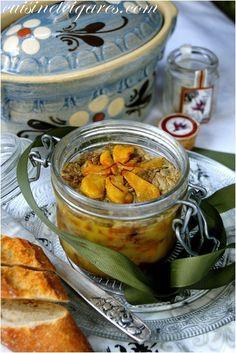 Foie Gras aux Pommes et Safran