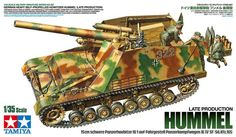 Michigan Toy Soldier Company : Tamiya - German SdKfz 165 Hummel Late Production Heavy Self-Propelled Howitzer