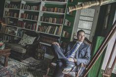 portrait Bookcase, Leather Pants, Wedding Photography, Photoshoot, Portrait, Home Decor, Leather Jogger Pants, Decoration Home, Photo Shoot