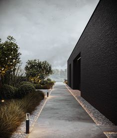 Architecture Concept Drawings, Architecture Visualization, Architecture Details, Interior Exterior, Exterior Design, Outdoor Landscaping, Outdoor Gardens, Landscape Design, Garden Design