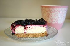 Finnish Recipes, Sweet Bakery, Vanilla Cake, Cheesecake, Goodies, Food And Drink, Gluten, Sweets, Baking
