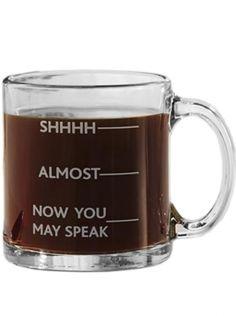 """Shhh, Almost, Now You May Speak"" Coffee Mug #inkedshop #coffeemug #mug #coffee #yum #sassy #kitchenware"