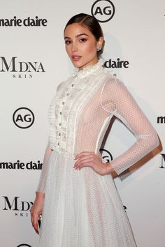 Olivia Culpo attends the Marie Claire's Image Makers Awards 2018 on January 11, 2018 in West Hollywood, California.
