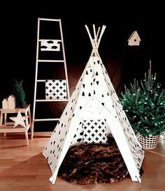 retrouvez un tuto pour r aliser un tipi pour les enfants en 8 tapes bricolage cie. Black Bedroom Furniture Sets. Home Design Ideas