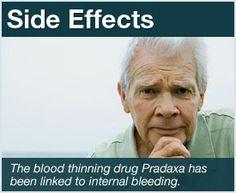 Pradaxa causes internal bleeding warnings and side effects pin now