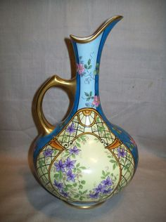 Limoge French ewer