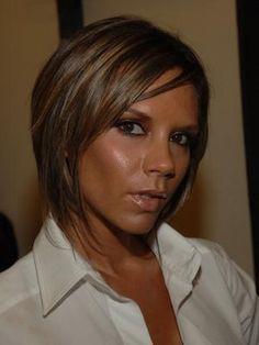 Victoria Beckham Hair - Graduated Bob