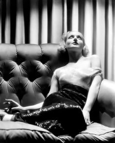 Carole Lombard photographed by Eugene Robert Richee in 1940.