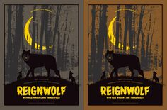 Mike Klay Reignwolf Seattle Poster