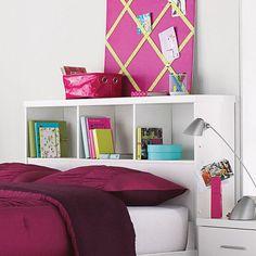 'Taylor' Double Bookcase Headboard