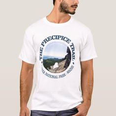 Precipice Trail T-Shirt   backpacking gifts, hiking staff, womens hiking backpack #HikingGifts #giftforher #adventuregift, 4th of july party Hiking Staff, Hiking Food, Hiking Gear, Hiking Backpack, Hiking Training, Adventure Gifts, Hiking Photography, Hiking Gifts, Rottweiler Puppies