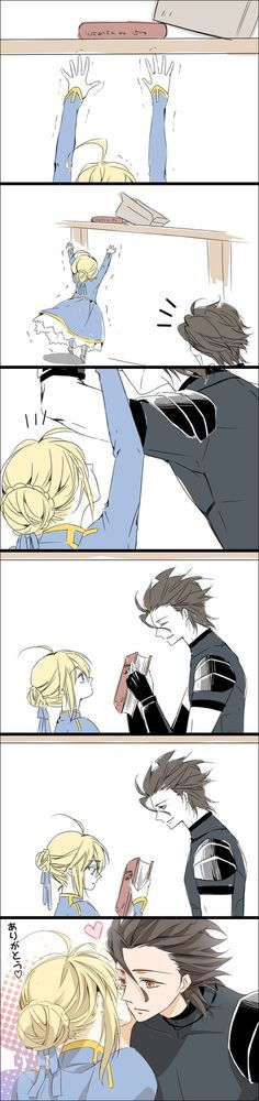 lancer and saber kiss - Buscar con Google