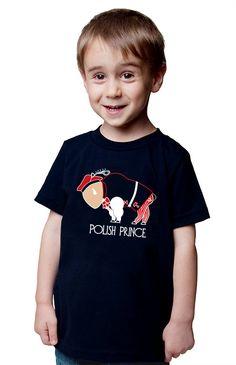 Boy Polish Toddler T-shirt Buffalo Polish Prince Cute