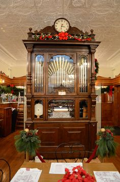 The orchestrion in the dining room at Zaharakos Ice Cream Parlor | photo by nwgeidner, via Flickr