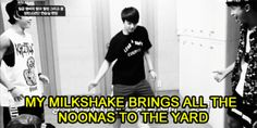 OMG HAHAHAHAHA Jungkook you got all the fangirls ;D Gif