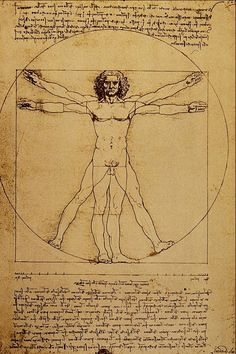 Vitruvian Man.