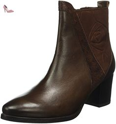 Caprice 25342, Bottes Classiques Femme, Marron (Dk Brown Comb 328), 40 EU - Chaussures caprice (*Partner-Link)