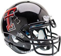 Texas Tech Red Raiders Authentic Schutt XP Full Size Helmet