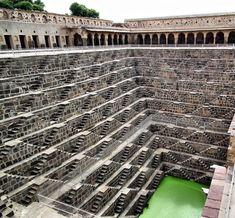 Chand Baori, India #scales