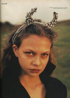 The Magic Show, Magazine- The Face, Photographer-Juergen Teller, Styling- Venetia Scott  December 1994