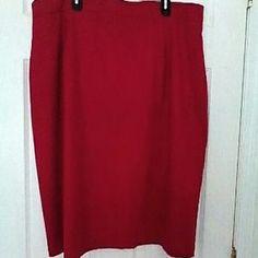 Modino Dresses & Skirts - Modino Red Skirt