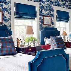 I am a huge fan of twin beds!