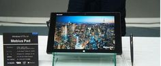 Sharp shows Windows 8 tablet with 2560 x 1600 pixels.