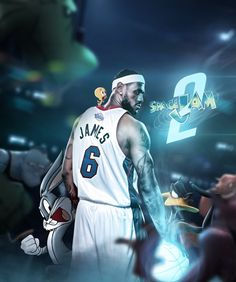Kode Logic got excited about the rumour of Space Jam 2 dropping with LeBron James. So he created some mock posters for the movie we all hope comes out. Lebron James Wallpapers, Nba Wallpapers, King Lebron James, King James, Nba Players, Basketball Players, Looney Tunes, Comedy Tv Series, Isaiah Thomas