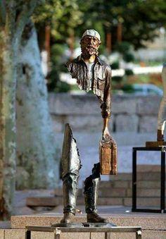 Amazing sculpture.