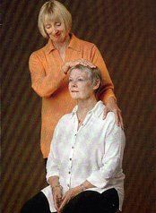 Dame Judi Dench having an Alexander Technique lesson with Sue Laurie