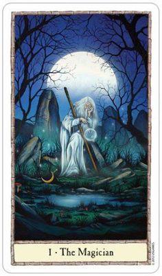 The Magician, from The Hobbit Tarot