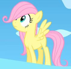 Fluttershy as baby