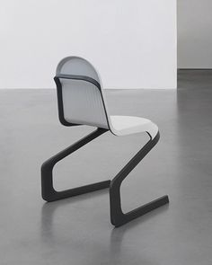frederic rätsch x DuPont shape the double cantilever chair as a flexible public seating