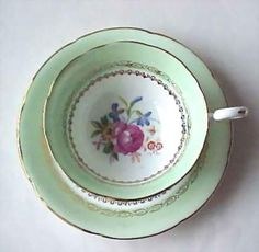 Cup of mint green