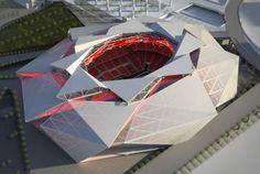 Impresionantes primeras imágenes del diseño del nuevo estadio de los Falcons - Univision