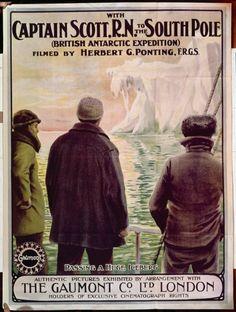 Captain Robert Falcon Scott Art Print Photo Poster Gift Quote Of The Antarctic