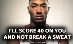 [MEMES] Derrick Rose Memes Funny Humor Pics | Flickr - Photo Sharing!  Yea right D rose! This should be Lebron James or Steph Curry.....but that's why it's funny, cause he got no game!
